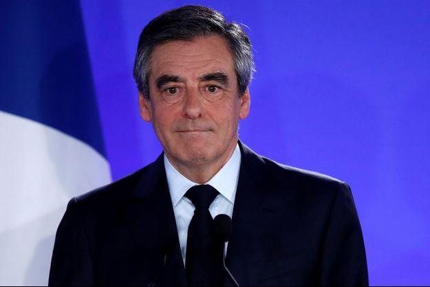 François Fillon ici le 23 avril, soir de sa défaite au premier tour de la présidentielle.