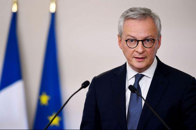 Bruno Le Maire, ici début mai lors d'une conférence de presse.