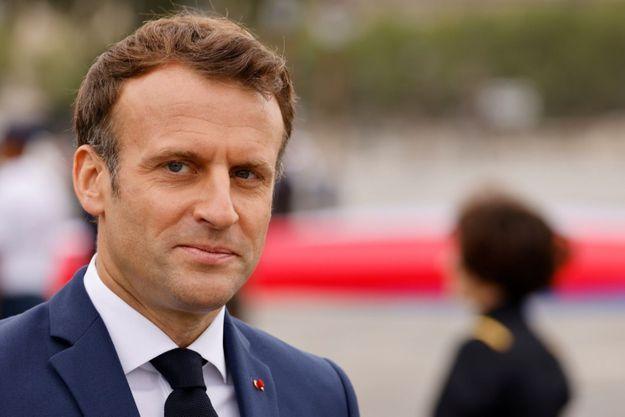 Emmanuel Macron, 14 juillet 2021.