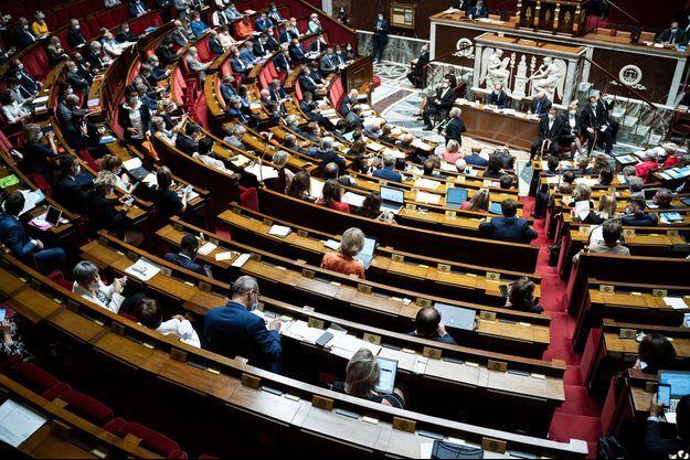 Image d'illustration, ici l'Assemblée nationale le 28 juillet.