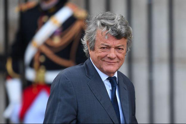 Jean-Louis Borloo le 30 septembre dernier, lors des obsèques de Jacques Chirac.