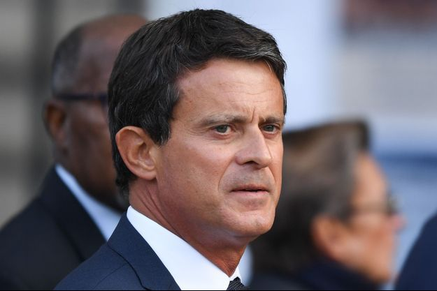 Manuel Valls ici fin septembre lors des obsèques de Jacques Chirac, à Paris.