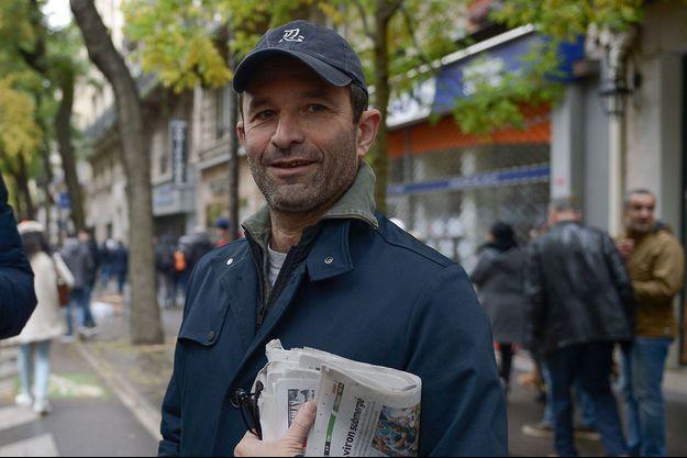 Benoît Hamon, ici fin 2019 à Paris lors d'une marche contre l'islamophobie.
