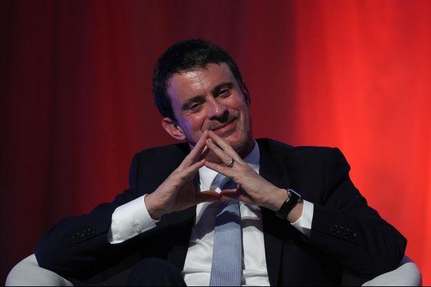 Manuel Valls, le 16 décembre 2017 à Barcelone.