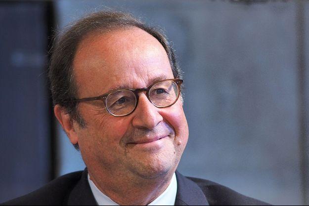 François Hollande, à Blois, le 10 octobre.