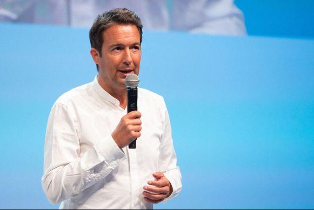 Guillaume Peltier, à Port-Marly en septembre.