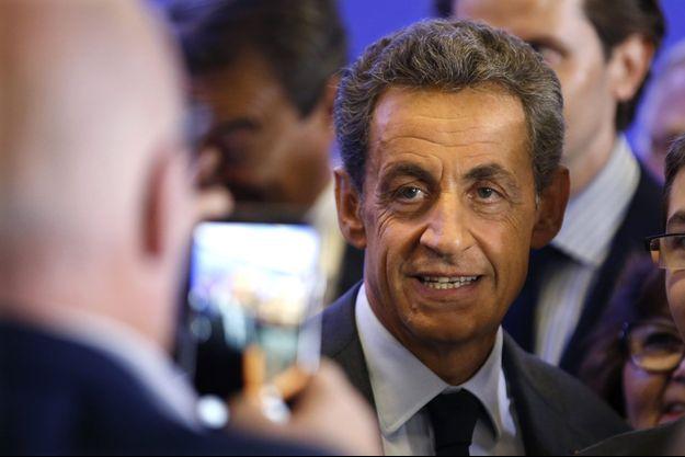 Nicolas Sarkozy à Paris le 16 septembre.