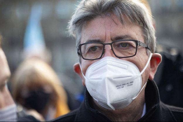Jean-Luc Mélenchon , ici à Paris mi-mars.
