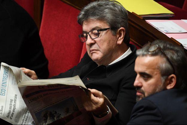 Jean-Luc Mélenchon ici à l'Assemblée nationale fin décembre 2018.