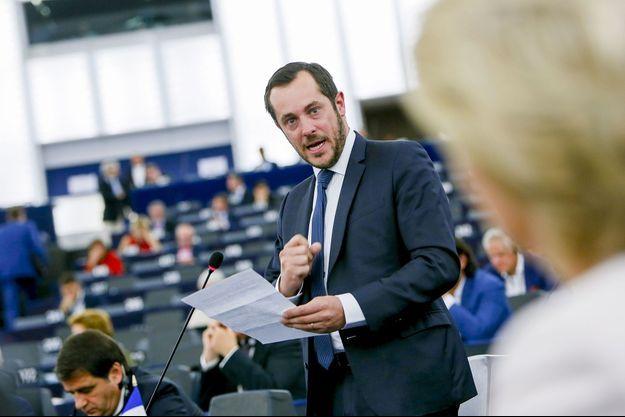 Nicolas Bay au Parlement européen le 16 juillet dernier.