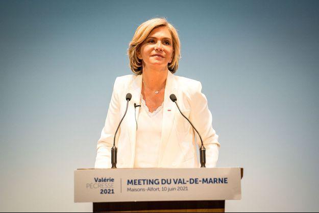 Valérie Pécresse le 10 juin 2021.