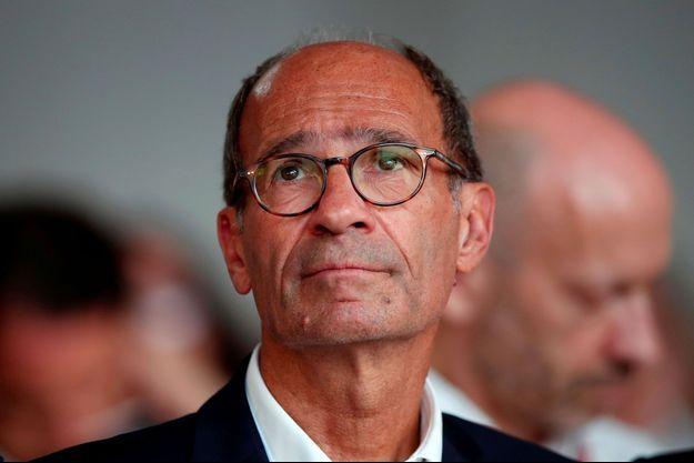 Eric Woerth en août 2018 à Jouy-en-Josas.