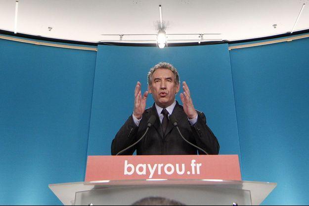 François Bayrou en 2012.