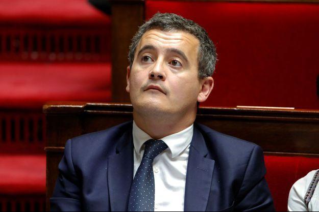 Gérald Darmanin, ministre de l'Action et des Comptes publics à l'Assemblée nationale le 23 octobre.