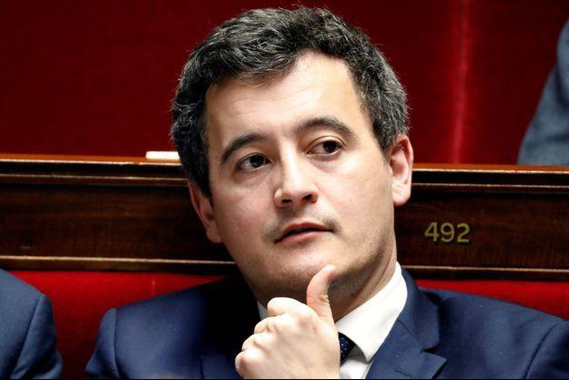 Gérald Darmanin à l'Assemblée nationale en février dernier.