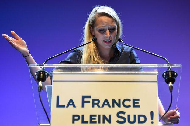 La candidate du Front National Marion Maréchal-Le Pen fait la course en tête pour la région Provence-Alpes-Côte d'Azur (photo d'illustration)
