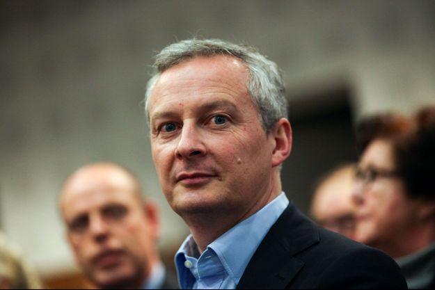 Bruno Le Maire le 9 mars à Lille