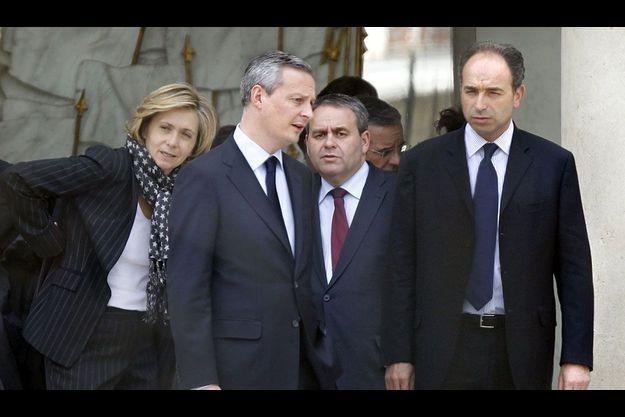 Valérie Pécresse, Bruno Le Maire, Xavier Bertrand et Jean-François Copé.