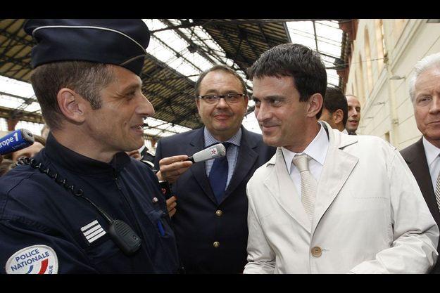 Manuel Valls à Marseille le 21 mai.