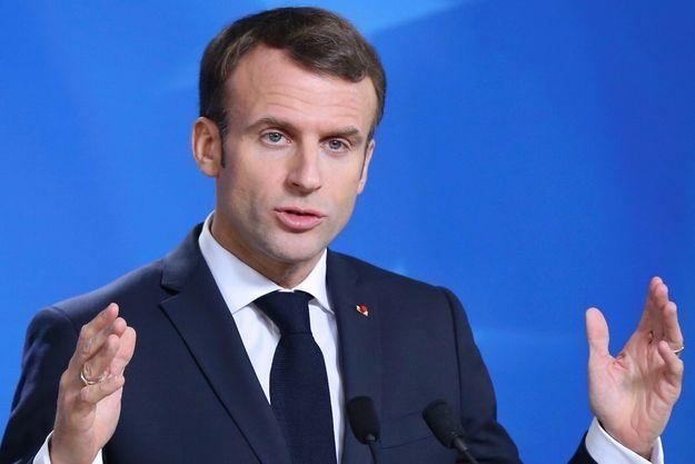 Emmanuel Macron le 25 novembre 2018 à Bruxelles