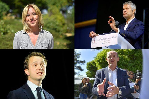 Florence Portelli, Laurent Wauquiez, Maël de Calan, Daniel Fasquelle