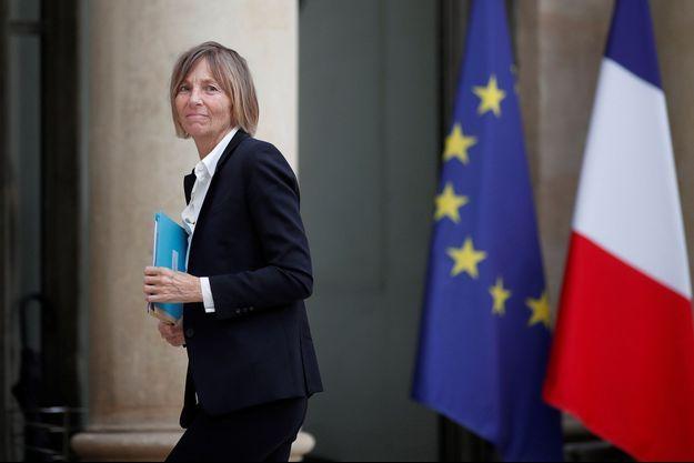Marielle de Sarnez à l'Elysée, en mai 2017.