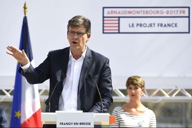 Arnaud Montebourg a annoncé sa candidature dimanche à Frangy-en-Bresse (Saône-et-Loire).