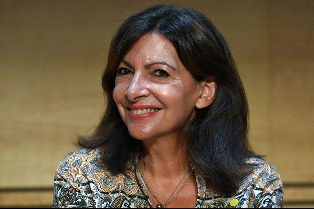 Anne Hidalgo, mardi à Montpellier lors des journées parlementaires du PS.