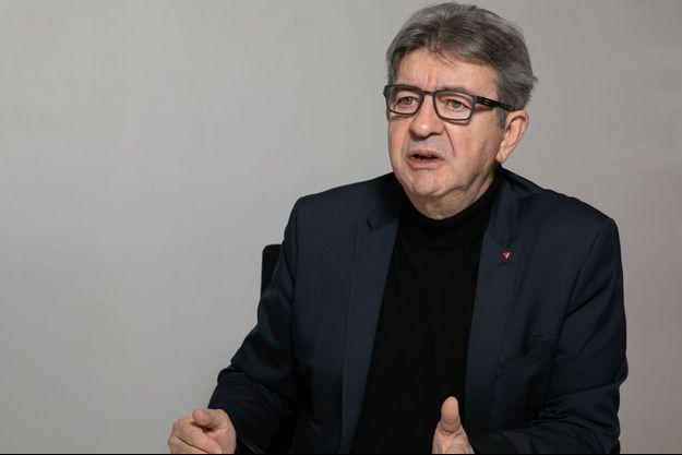 Jean-Luc Mélenchon, fin novembre à Paris.