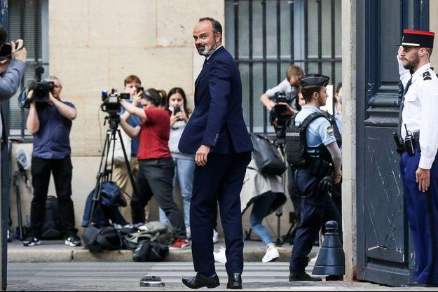 Edouard Philippe, lors de son départ de Matignon, début juillet.