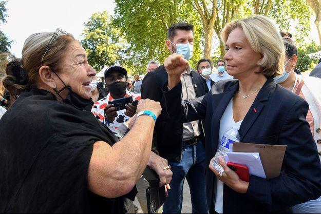 Valérie Pécresse à Brive-la-Gaillarde samedi.