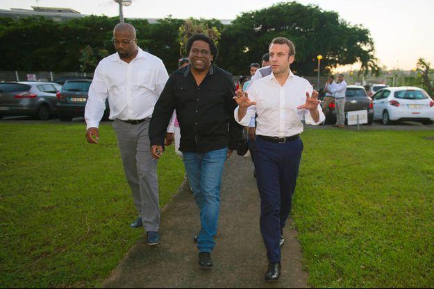 Emmanuel Macron s'était déplacé en Martinique en décembre 2016.