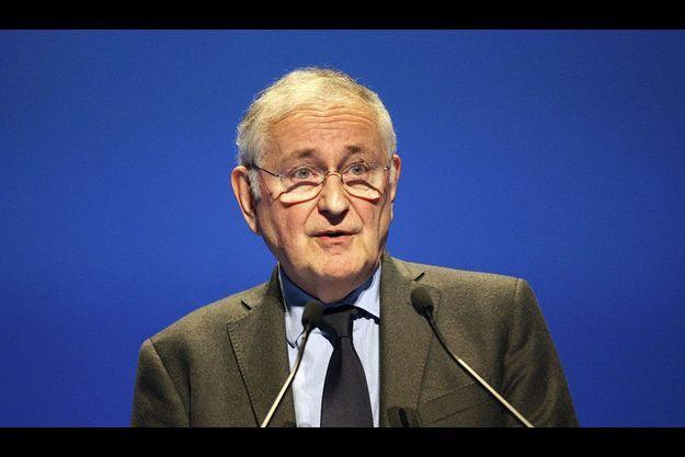 Jacques Cheminade, jeudi, lors du congrès du syndicat agricole FNSEA.