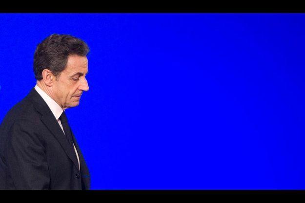 Nicolas Sarkozy, le 3 février.