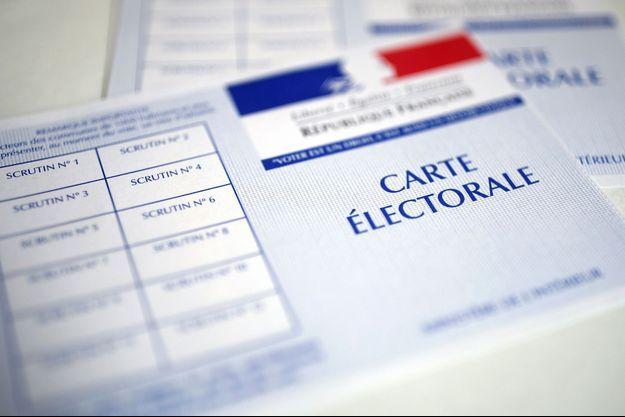 Carte électorale (illustration)