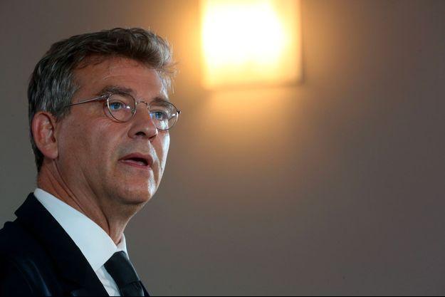 Arnaud Montebourg à Clamecy, le samedi 4 septembre, lors de sa déclaration de candidature.