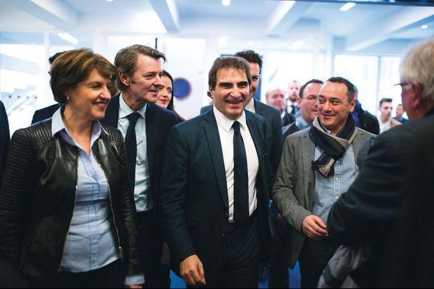 Le président de l'Association des maires de France, Francois Baroin, et le patron des Républicains, Christian Jacob, en novembre dernier.