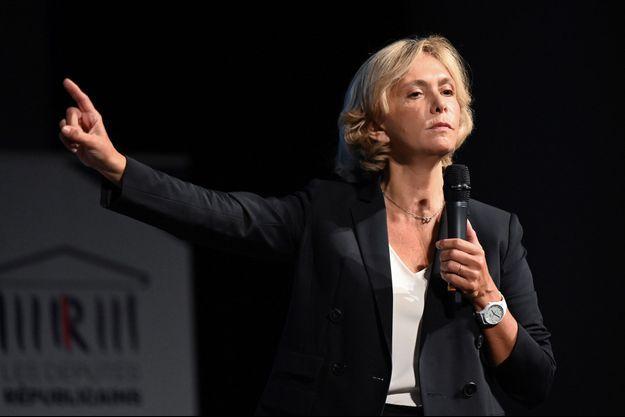 Valérie Pécresse jeudi à Nîmes.