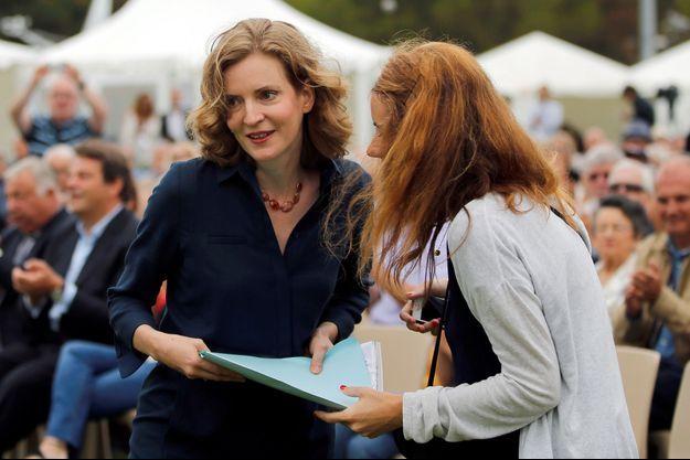 Nathalie Kosciusko-Morizet à La Baule le 4 septembre 2016.