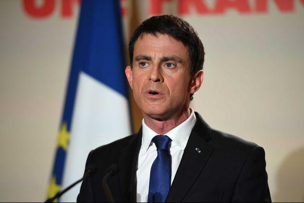 Manuel Valls, dimanche 29 janvier.