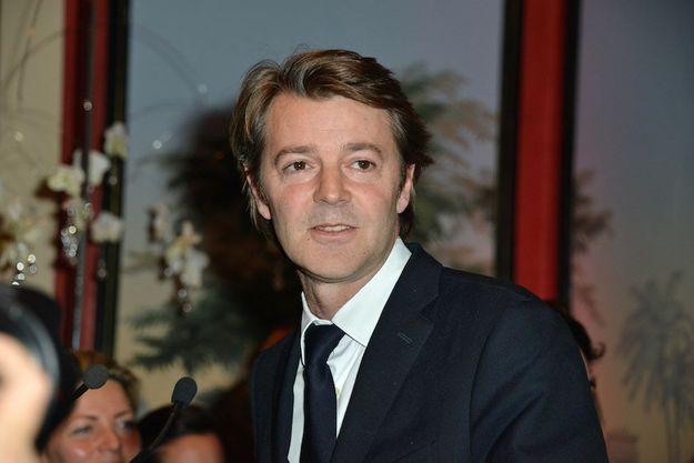 François Baroin à la cérémonie du prix de la Femme d'influence 2014 en décembre dernier à Paris.