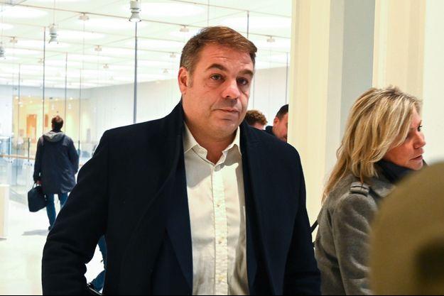 Axel Loustau au tribunal de grande instance de Paris, le 6 novembre.