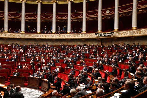 L'hémicycle de l'Assemblée nationale, en avril dernier. La députée Maud Olivier espère pouvoir déposer une proposition de loi sur la prostitution d'ici fin novembre.
