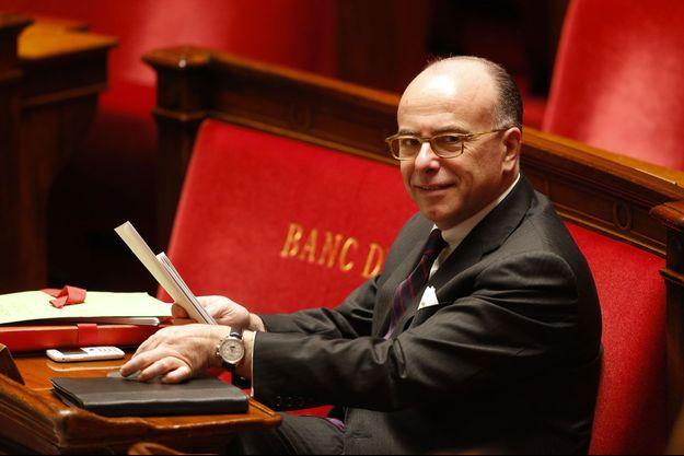 Bernard Cazeneuve à l'Assemblée nationale.