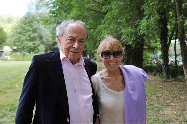 Michel Rocard et son épouse Sylvie à l'été 2012.