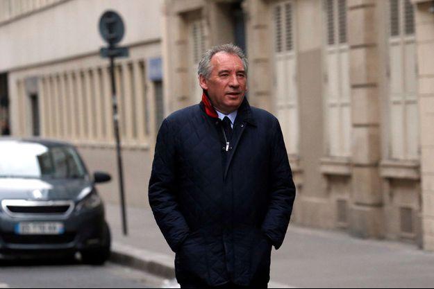 François Bayrou, au lendemain de la victoire d'Emmanuel Macron à la présidentielle.