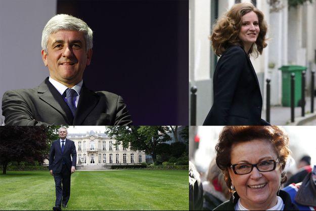 Hervé Morin, Nathalie Kosciusko-Morizet, Jean-Marc Ayrault et Christine Boutin.
