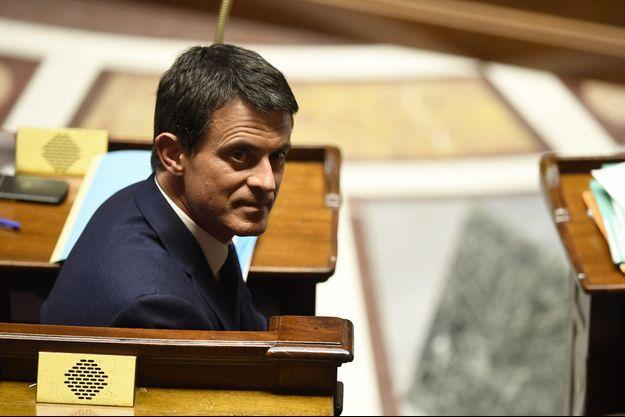 Manuel Valls à l'Assemblée nationale, mercredi.