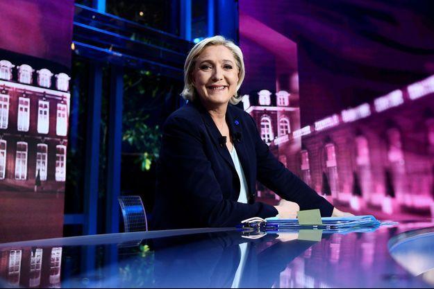 Marine Le Pen sur TF1 le 25 avril.