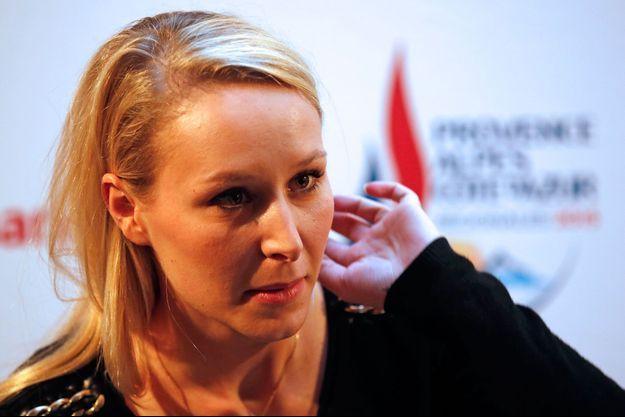 Marion Maréchal-Le Pen, ici en décembre dernier.